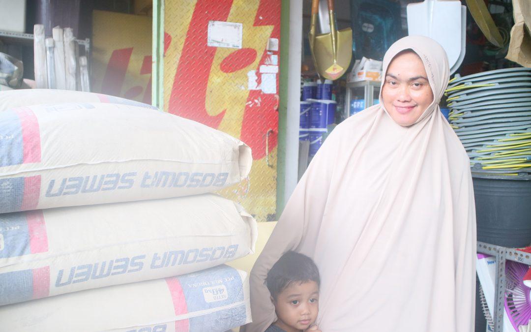 Toko Reski Jaya : Tidak Mau Tidak Jual Bosowa karena Tukang Selalu Cari